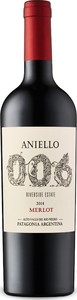 Aniello 006 Merlot 2014, Patagonia Bottle