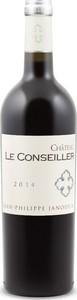 Château Le Conseiller 2015, Ac Bordeaux Supérieur Bottle