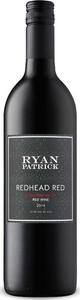 Ryan Patrick Redhead Red 2014 Bottle