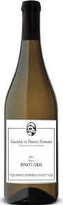 The Grange Of Prince Edward Select Pinot Gris 2015, VQA Prince Edward County Bottle