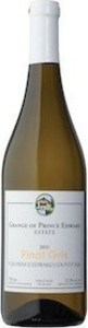The Grange Of Prince Edward Select Pinot Gris 2013, Prince Edward County Bottle