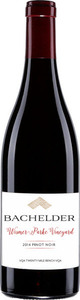 Bachelder Pinot Noir Wismer Parke Vineyard 2014, VQA Twenty Mile Bench Bottle