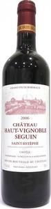 Château Haut Vignobles Seguin 2012, Ac Saint Estèphe Bottle