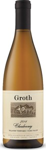 Groth Hillview Vineyard Chardonnay 2014, Napa Valley Bottle