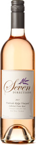 Seven Directions Cabernet Franc Rose Fruitvale Ridge Vineyard 2016, Okanagan Valley Bottle
