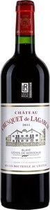 Château Crusquet De Lagarcie Premières Côtes De Blaye 2012 Bottle