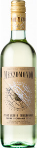 Mezzomondo Pinot Grigio Chardonnay 2015 Bottle