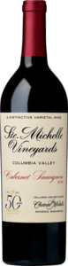 Chateau Ste. Michelle Cabernet Sauvignon 2015, Columbia Valley Bottle