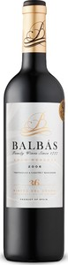 Balbas Gran Reserva 2006 Bottle