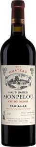 Château Haut Bages Monpelou 2014 Bottle