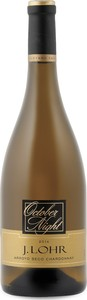 J. Lohr October Night Chardonnay 2015, Arroyo Seco, Monterey County Bottle