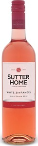 Sutter Home White Zinfandel Bottle