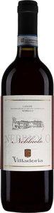 Villadoria Langhe Nebbiolo 2015 Bottle