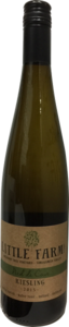 Little Farm Riesling Pied De Cuvee 2015, Similkaneen Valley Bottle
