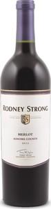 Rodney Strong Merlot 2013, Sonoma County Bottle