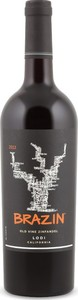 Brazin (B)Old Vine Zinfandel 2014, Lodi Bottle