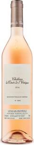Château La Tour De L'évêque Rosé 2016, Harvested By Hand, Ac Côtes De Provence Bottle