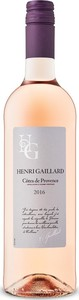 Henri Gaillard Rosé 2016, Ac Côtes De Provence Bottle