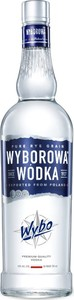 Wyborowa Vodka Bottle