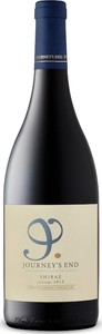 Journey's End Shiraz 2012, Barrel Selection, Wo Stellenbosch Bottle