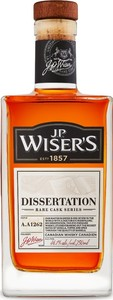 J.P. Wiser's Dissertation Bottle