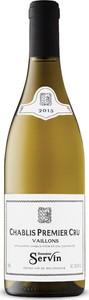 Domaine Servin Chablis Vaillons Premier Cru 2015 Bottle