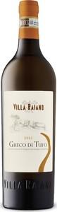 Villa Raiano Greco Di Tufo 2015, Docg Bottle
