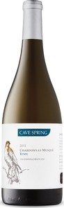 Cave Spring Estate Bottled Chardonnay Musqué 2015, Cave Spring Vineyard, VQA Beamsville Bench, Niagara Peninsula Bottle