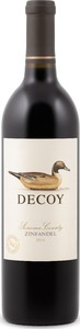 Decoy Zinfandel 2015, Sonoma County Bottle