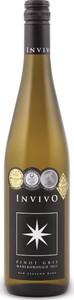 Invivo Pinot Gris 2016 Bottle