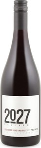 2027 Cellars Queenston Road Vineyard Pinot Noir 2013, VQA St. David's Bench, Niagara On The Lake Bottle
