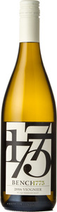Bench 1775 Viognier 2016, Okanagan Valley Bottle