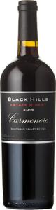 Black Hills Carmenere 2015, Okanagan Valley Bottle