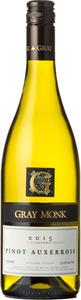 Gray Monk Pinot Auxerrois 2015, BC VQA Okanagan Valley Bottle