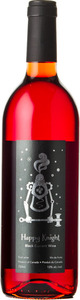 Happy Knight Black Currant Wine 2016 Bottle