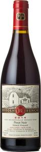 Hidden Bench Felseck Vineyard Pinot Noir 2014, VQA Beamsville Bench Bottle