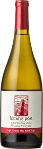 Leaning Post Chardonnay Wismer Vineyard 2014, VQA Twenty Mile Bench Bottle