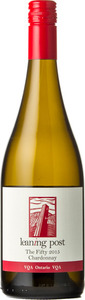 Leaning Post Chardonnay The Fifty 2015, VQA Ontario Bottle