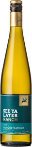 See Ya Later Ranch Gewurztraminer 2016, Okanagan Valley Bottle