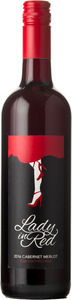 Sprucewood Shores Lady In Red 2016, VQA Lake Erie North Shore Bottle
