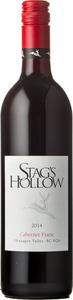Stag's Hollow Cabernet Franc 2014, BC VQA Okanagan Valley Bottle