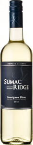 Sumac Ridge Private Reserve Sauvignon Blanc 2016, Okanagan Valley Bottle