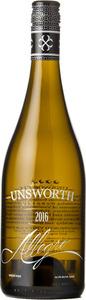 Unsworth Allegro 2016, Vancouver Island Bottle