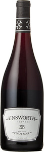 Unsworth Pinot Noir 2015, Vancouver Island Bottle