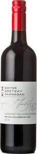 Wayne Gretzky Okanagan Cabernet Sauvignon Syrah 2015, Okanagan Valley Bottle