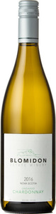 Blomidon Unoaked Chardonnay 2014, Nova Scotia Bottle