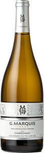 G. Marquis The Silver Line Chardonnay 2015, VQA Niagara On The Lake Bottle