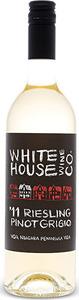 White House Riesling Pinot Grigio 2016, VQA Niagara Peninsula Bottle