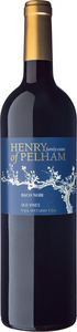 Henry Of Pelham Baco Noir Old Vines 2016 Bottle