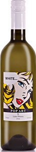 Lykos Winery Pop Art White 2016, Pgi Evia Bottle
